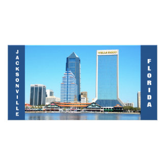 Jacksonville, Florida Cityscape photo card