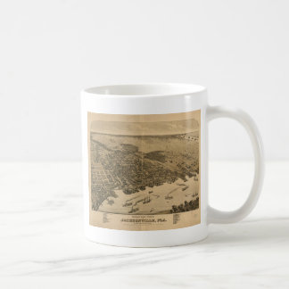 Jacksonville Florida in 1876 Coffee Mug