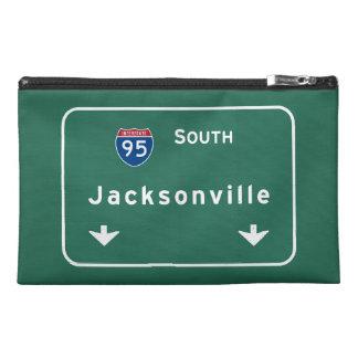 Jacksonville Florida Interstate Highway Freeway : Travel Accessory Bag