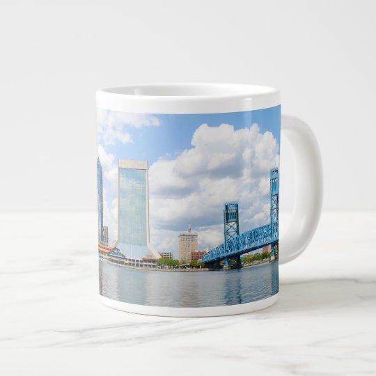 Jacksonville, Florida Large Coffee Mug