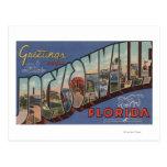 Jacksonville, Florida - Large Letter Scenes 2 Postcard