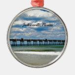 Jacksonville, Florida Pier Christmas Ornament