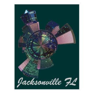jacksonville florida postcard
