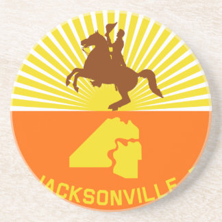 Jacksonville, Florida, United States flag Beverage Coaster