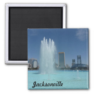 Jacksonville Friendship Fountain Photo Magnet FL