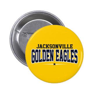 Jacksonville High School; Golden Eagles Pinback Button
