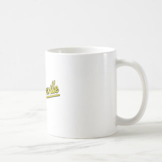 Jacksonville in yellow coffee mug