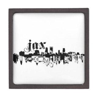 Jacksonville JAX puesta para su ciudad Cajas De Joyas De Calidad