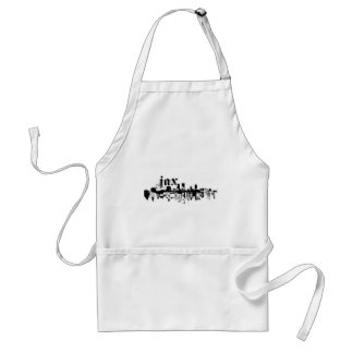 Jacksonville JAX put on for your city Adult Apron