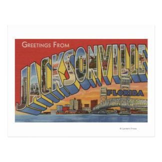 Jacksonville, la Florida - escenas grandes de la Postal