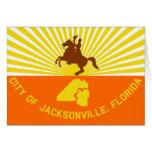 Jacksonville, la Florida, Estados Unidos señala po Felicitación