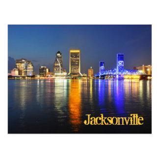 Jacksonville, la Florida, los E.E.U.U. Tarjeta Postal