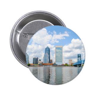 Jacksonville, la Florida Pin Redondo 5 Cm