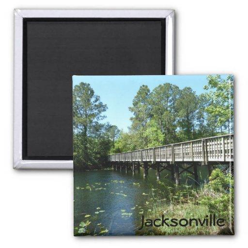 Jacksonville Lake Oneida Photo Magnet Preserve