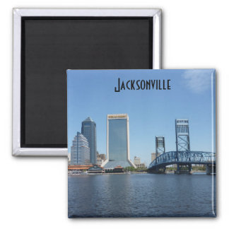 Jacksonville Main Street Bridge Photo Magnet Jax