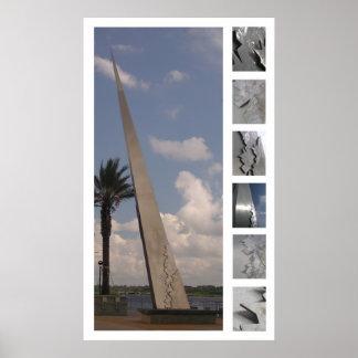 Jacksonville Monument Study Poster