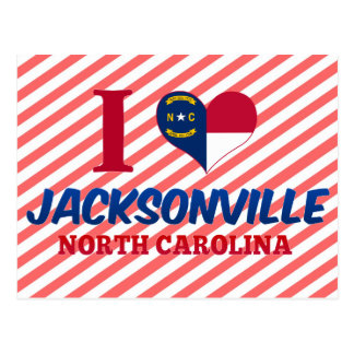 Jacksonville, North Carolina Postcard