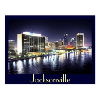 Jacksonville reflections on the River Post Card