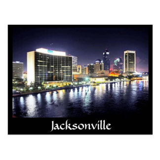 Jacksonville reflections on the River Postcard