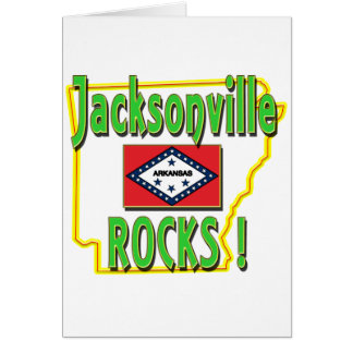 Jacksonville Rocks ! (green) Card