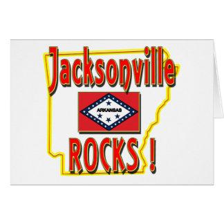 Jacksonville Rocks ! (red) Card