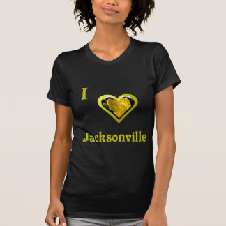 Jacksonville -- with Yellow Flower T-Shirt