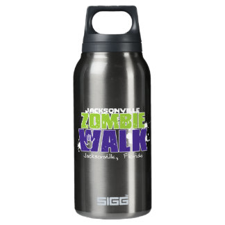 Jacksonville Zombie Walk Logo Insulated Water Bottle