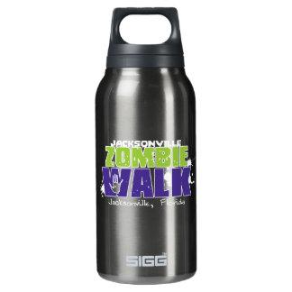 Jacksonville Zombie Walk Logo Insulated Water Bottle