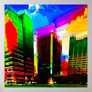 jacktown vibrance print