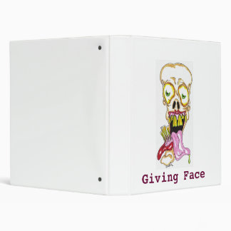 jacky day, Giving Face 3 Ring Binder