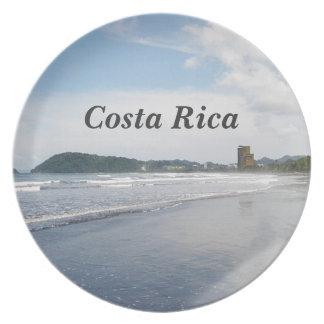 Jaco Beach in Costa Rica Dinner Plates