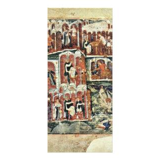 Jacob And Esau By Meister Des Ashburneham-Pentateu Personalized Rack Card