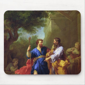 Jacob and Laban, before 1737 Mouse Pad