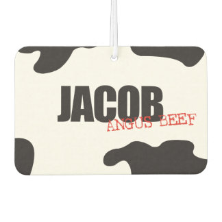 "Jacob ""Angus Beef"" Trendy Air Freshener"