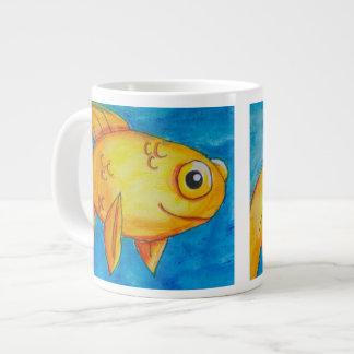 Jacob Art, Fish, Jumbo Mug