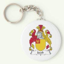 Jacob Family Crest Keychain
