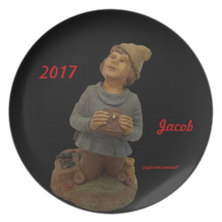 JACOB-GIFT FOR MOTHER KY. BG VALLEY ELF 2017 PLATE