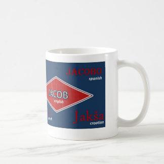 Jacob International Name Mug