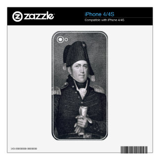 Jacob Jennings Brown (1775-1828) engraved by Asher iPhone 4 Skin