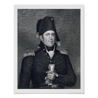 Jacob Jennings Brown (1775-1828) engraved by Asher Poster