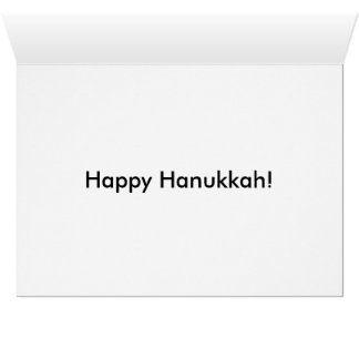 Jacob Jewel Art. Bears & Hanukkah. Marker. 2013 Card