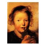 Jacob Jordaens- Child's head Postcards
