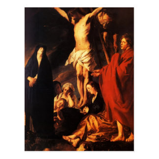 Jacob Jordaens- Cristo en una cruz Postales
