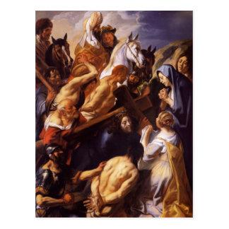 Jacob Jordaens- Cristo que lleva la cruz Tarjeta Postal