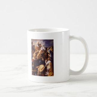 Jacob Jordaens- Cristo que lleva la cruz Tazas De Café