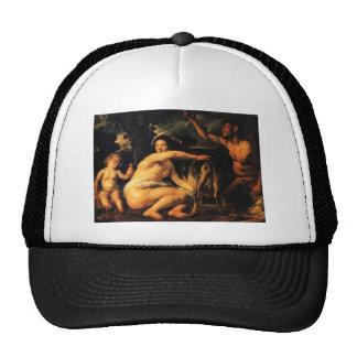 Jacob Jordaens-Infant Jupiter Fed by Goat Amalthea Trucker Hat