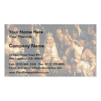 Jacob Jordaens- King Drinks Business Card