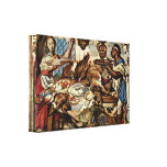Jacob Jordaens - Kitchen scene Gallery Wrapped Canvas