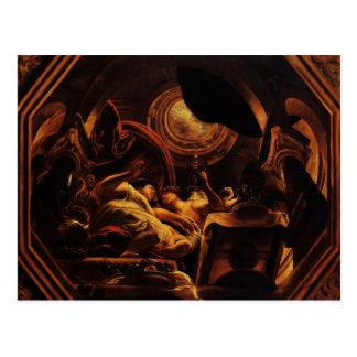 Jacob Jordaens- Love of Cupid and Psyche Postcard