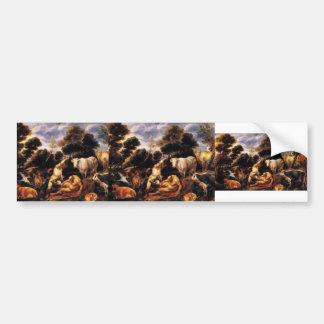 Jacob Jordaens- Mercure killing Argos Bumper Stickers